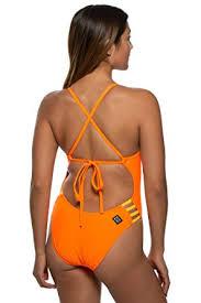 Jolyn Womens Tie Back Gavin One Piece Swimsuit