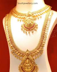 Kasulaperu Earrings Designs Lakshmi Kasu Necklace And Haram Indian Jewellery Designs