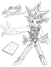 The manga series was published from 30th september. Free Printable Yugioh Coloring Pages For Kids
