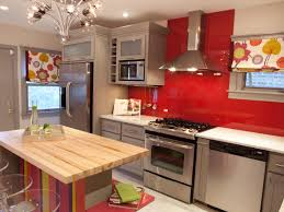 Red Kitchen Decor Kitchen 10 Collection Small Kitchen Counter Ideas Glossy Red
