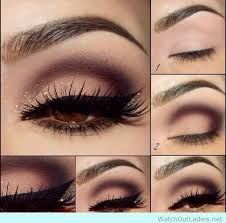 glamorous brown eye shadow tutorial