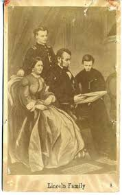Image result for In 1842, Lincoln married Mary Todd; together, the pair raised four sons.