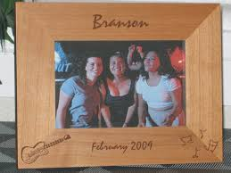 guitar picture frame personalized frame laser engraved electric guitar and notes