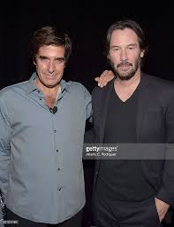 david copperfield david copperfield videos at abc news video  cinemacon 2016 illusionist david copperfield l and actor keanu reeves attend cinemacon 2016 experience the