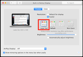 how to change text size how to increase all system font size in mac os x