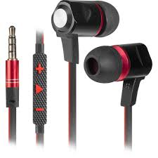 Headset for mobile devices <b>Defender Lance black</b> + <b>red</b>, 1,2 m cable
