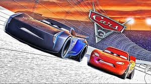 Small Picture NEW CARS 3 Coloring Cars Lightning McQueen and Jackson Storm