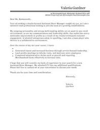 Awesome Collection Of Captivating Retail Manager Cover Letter 13