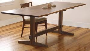 japanese furniture plans 2.  Plans A Fresh Take On The Trestle Table Throughout Japanese Furniture Plans 2