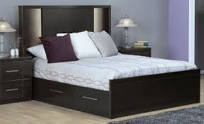 seville queen storage bed  charcoal  leon's