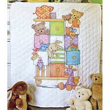 Dimensions Baby Hugs  Baby Drawers  Quilt St&ed Cross Stitch Kit ... & Dimensions Baby Hugs