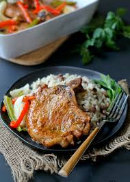 tender and delicious baked pork chops