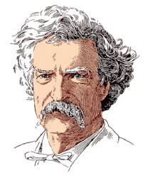 Image result for mark twain drawing