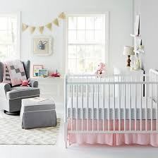 Pink & Gray Nursery Room