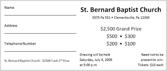 Template For Raffle Tickets To Print Free Raffle Ticket Printing Template Raffle 58131004924 Free Raffle
