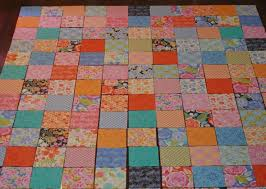Super Easy Quilt to Make! & quilt squares laid out Adamdwight.com