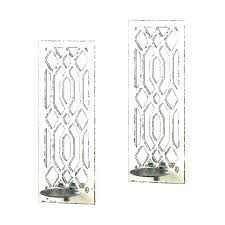 mirrored wall candle holders mirror wall candle holders wall candle holders mirror wall sconce set bathrooms
