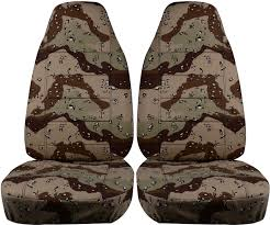 desert storm camo car seat covers