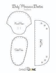 Baby Moccasins Pattern