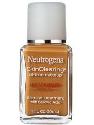 this oil free um coverage foundation from neutrogena conceals acne as it fights it