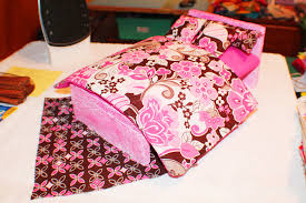 homemade barbie furniture. homemade diy double size barbie bed furniture