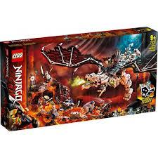 Đồ chơi lắp ráp dành cho trẻ em LEGO NINJAGO Rồng Thần Của Phù Thủy Đầu Lâu  71721