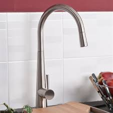 Tap Designs For Kitchens Tristar Brushed Monobloc Single Lever Pullout Spout Kitchen Sink