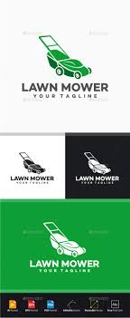 lawn mower logo by yopie graphicriver lawn mower logo objects logo templates