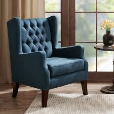 allis on tufted wingback chair