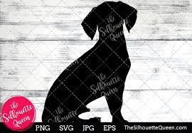 Beagle Dog Silhouette (Graphic) by ...