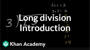 Long Division Process Chart Intro To Long Division Remainders Video Khan Academy