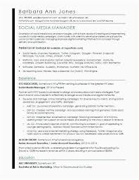 It Asset Management Resume Sample Social Media Marketing Resume