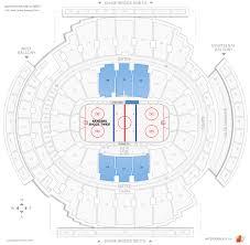 Madison Square Garden 400 Level Hockey Seating