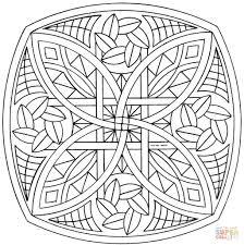 Disegno Di Mandala Celtico Da Colorare Disegni Da Colorare E Con Con