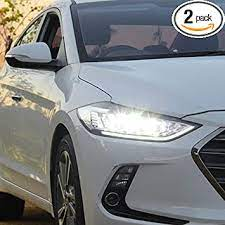Check spelling or type a new query. Amazon Com 2pcs Headlight Assemblies For Hyundai Elantra 2017 2018 Bi Xenon Lens Projector Double Beam Xenon Hid Kit With Led Daytime Running Lights Automotive