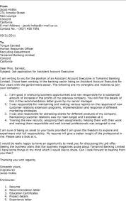 Sample How To Write Assistant Account Executive Cover Letter Best