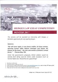 law essays uk hedges law essay competition win an internship  hedges law essay competition win an internship hedges law hedges law essay competition win an internship