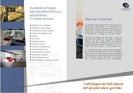 Cameron Design And Construction Construction Brochure Design For A Company By Design Addict