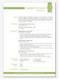 Contemporary Resume Templates Extraordinary Gallery Of Modern Microsoft Word Resume Template Liliana By Inkpower