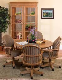 office dining table. Amish Heritage Swivel Dining Room Chair Or Office Table