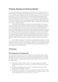 cover letter example critical essay a critical essay example cover letter best photos of critical essay examples sample analysis exampleexample critical essay large size