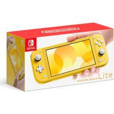 Máy chơi game Nintendo Switch Lite - Yellow - Hàng Nhập Khẩu