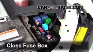 replace a fuse 2004 2009 lexus rx330 2004 lexus rx330 3 3l v6 6 replace cover secure the cover and test component