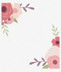 Flower Border Designs For Paper Paper Floral Design Greeting Card Flower Border Floral Design