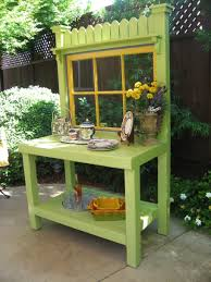 Potting Bench Plans Decoration Attractive Planting Table Ideas For Contemporary