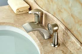 how to fix a leaky delta bathtub faucet tub faucet leaking from spout bathroom tub faucet