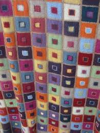 ravelry project gallery for madras throw cushion throw pattern by kaffe fett