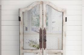 weathered distressed rustic white wood wooden chicken wire wall art wall decor french country country chic  on iron and wood panel wall art in white with weathered distressed rustic white wood wooden chicken wire