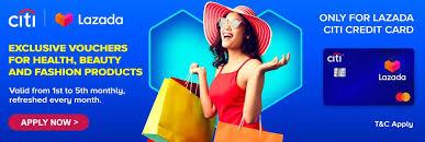 lazada citi platinum card offers