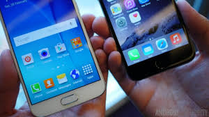 samsung galaxy s6 vs iphone 7. samsung galaxy s6 vs iphone 6 7